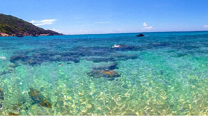 Đảo Bình Ba - Bè tôm hùm